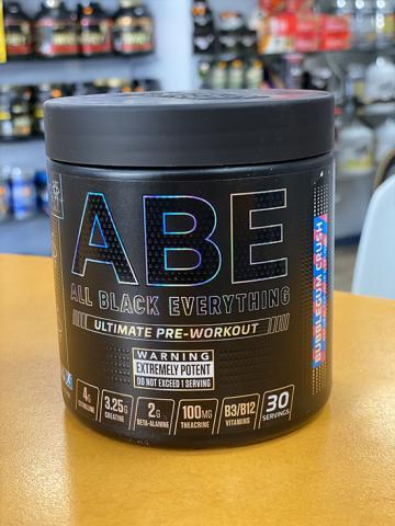 abe pre workout