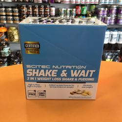 shake and wait