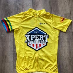 t-shirt bike yellow